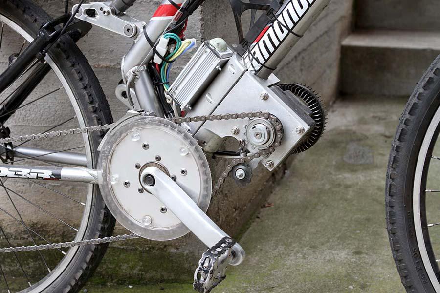 Electric bike kit bicicletta elettrica motore brushless for Kit portico anteriore in vendita