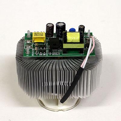 Schema Elettrico Neon A Led : Come realizzare lampade v hz a led by roberto chirio