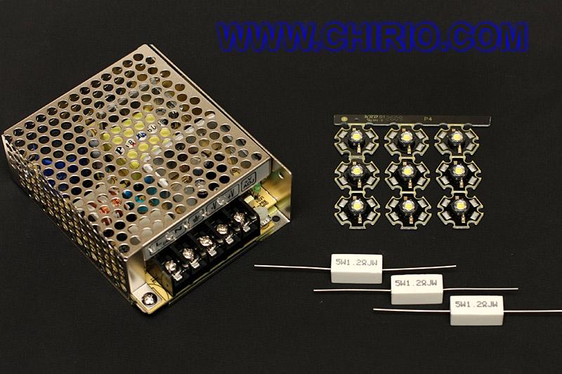 Come realizzarelampade 220V 50Hz a led by Roberto Chirio