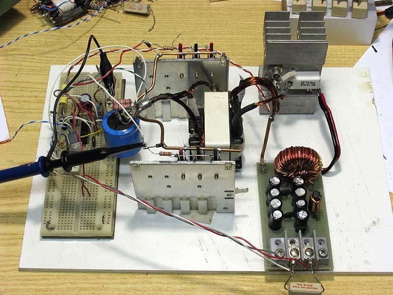 Schemi Elettrici Modellismo Ferroviario : Switching power supply a alimentatore dc